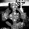 Old Irish Cross, Corcomroe Abbey,  County Clare, Ireland