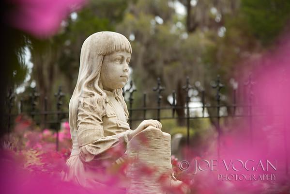 Little Gracie Watson Gravesite, Bonaventure Cemetery, Savannah, Georgia