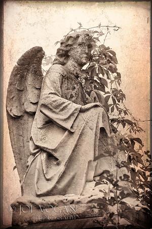 Angel Grave Marker, Mount Vernon Cemetery, Philadelphia, Pennsylvania