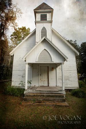 Old Church, Windsor, Florida, Alachua County