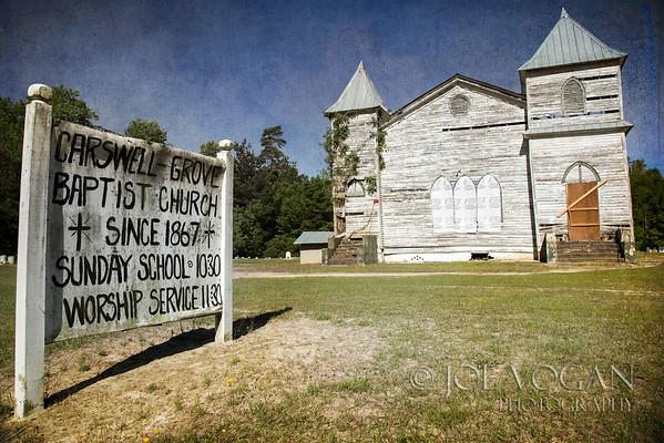 Carswell Grove Baptist Church, Jenkins County, Georgia