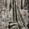 Union Soldier Napping, Olustee Civil War Reenactment, Florida