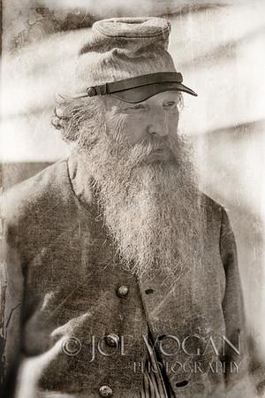 Confederate Soldier, Olustee Civil War Reenactment, Olustee, Florida