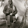 Preaching a Sunday sermon before the battle, Olustee Civil War Reenactment, Florida