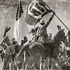 Confederate Soldiers celebrate winning the battle.
