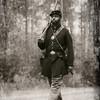 "54th Regiment Massachusetts Volunteer Infantry Soldier, Olustee Civil War Reenactment, Olustee, Florida<br /> History - <a href=""http://tinyurl.com/o2lcvuu"">http://tinyurl.com/o2lcvuu</a>"