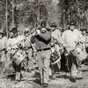 Marching Band, Olustee Civil War Reenactment, Olustee, Florida