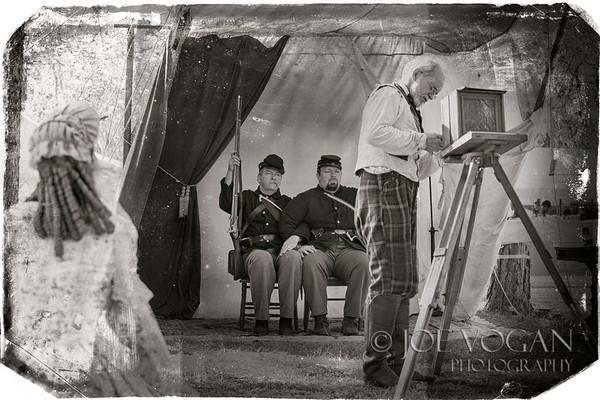 Daguerreotype Photographer, Olustee Civil War Reenactment, Olustee, Florida