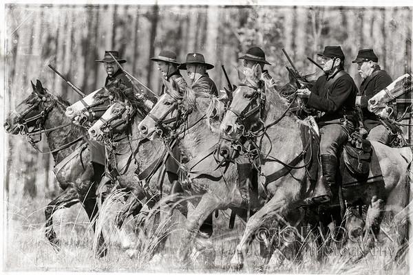 Union Cavalry, Olustee Civil War Reenactment, Olustee, Florida