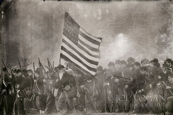Union Soldiers, Olustee Civil War Reenactment, Olustee, Florida