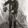 Union Soldier cleaning rifle, Olustee Civil War Reenactment, Olustee Florida