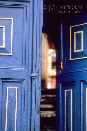 Blue Door, Cusco, Peru