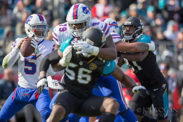 Buffalo Bills vs. Jacksonville Jaguars, January 3, 2018