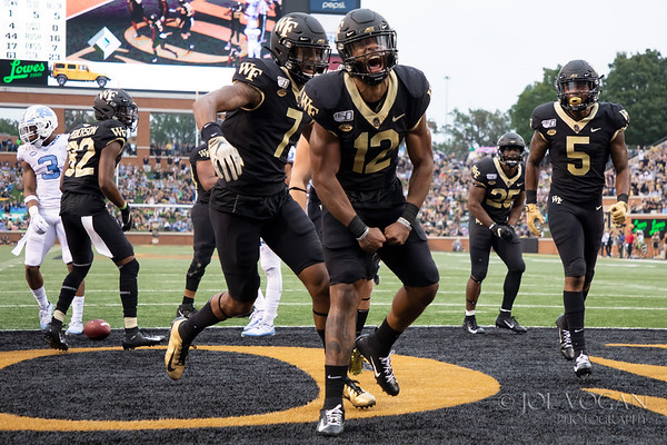 North Carolina vs. Wake Forest, September 13, 2019