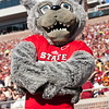Wolfpack mascot, North Carolina State University vs. Florida State University, October 26, 2013