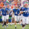 Florida Gators entering the swamp