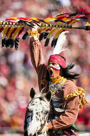 Chief Osceola and Renegade. Florida State University Seminoles