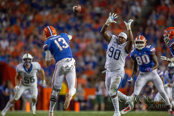 Kentucky vs. Florida, September 8, 2018