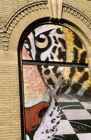 East Bay Street Jaguar Mural, Jacksonville, Florida