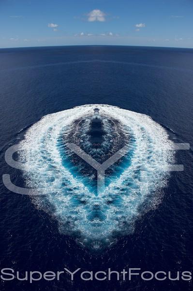 Sea wake