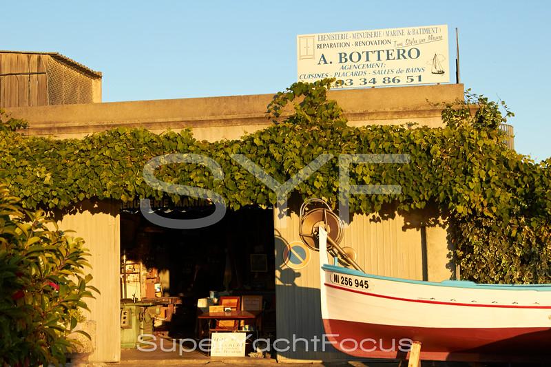 Fishing boat,Antibes