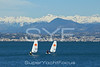 Dinghy sailing,Antibes