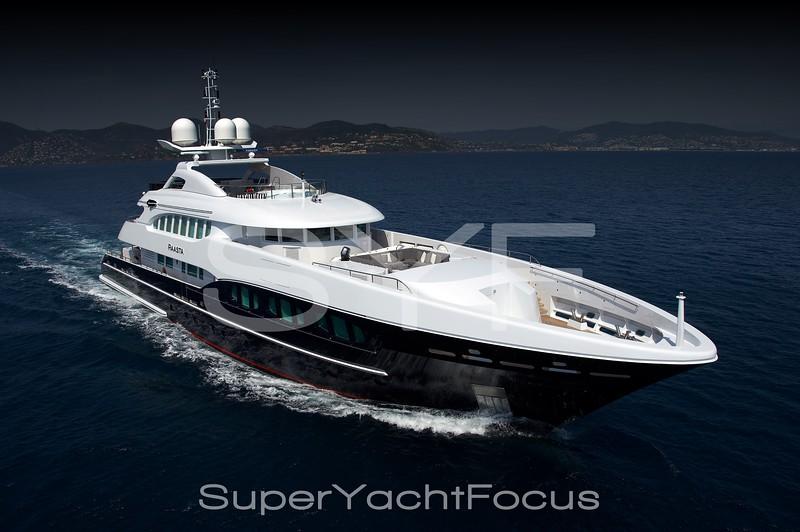 Creative superyacht