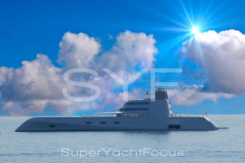 Superyacht `A`