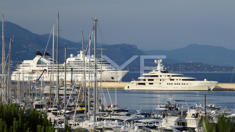 Romea and cruiseliner
