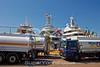 Superyachts bunkering fuel