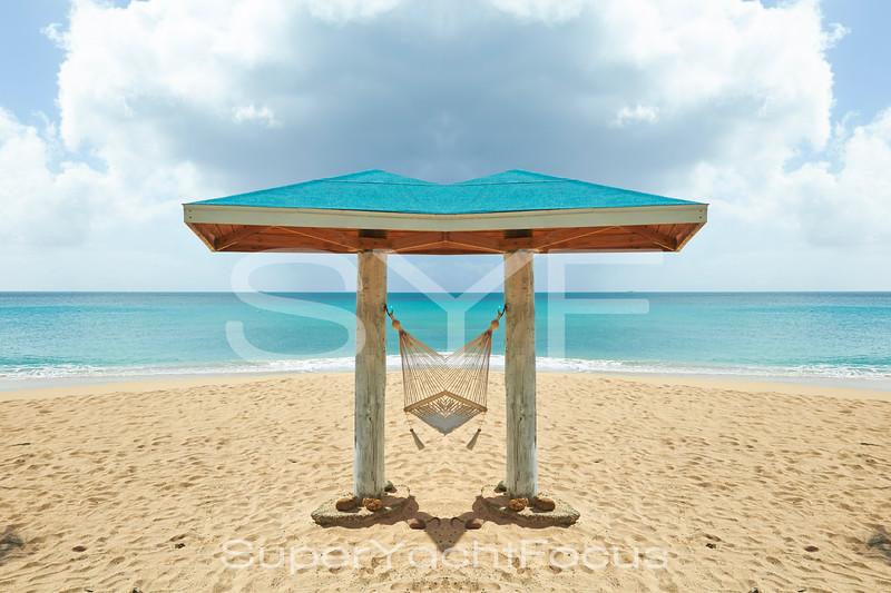 Beach hut, Antigua