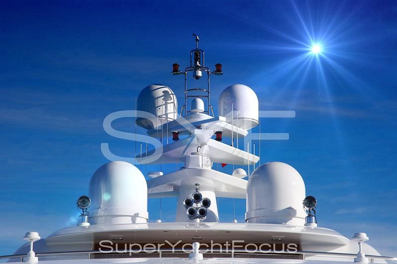 Creative satellite domes and aerials