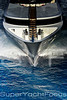 Superyacht bow