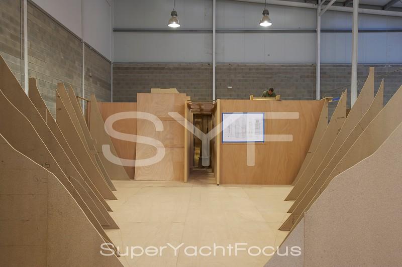 Yacht carpentry