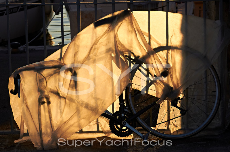 Bicycle in plastic