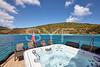 Jacuzzi with sun loungers