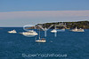 Cap D`Antibes with yachts