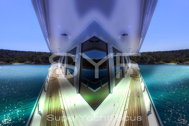 Creative yacht detail