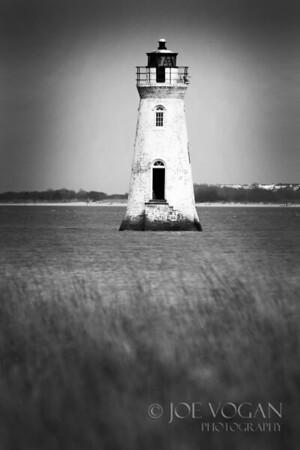 Cockspur Island Lighthouse, Savannah, Georgia