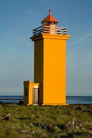 Svortuloft Lighthouse, Reykjanes Peninsula, Iceland