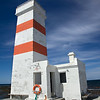 Lighthouse on Gardskagi, Reykjanes Peninsula, Iceland, 1897, made inactive in 1944