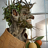 Winter (after Arcimboldo)  2010, by Phillip Haas, pigmented and painted fiberglass
