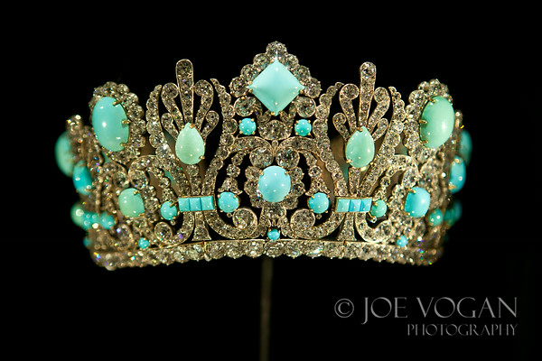 Marie Louise Diadem,  Presumed wedding gift from Napoleon I to his second wife in 1810.