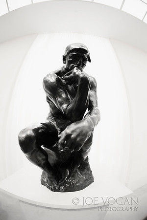 The Thinker   Conceived 1880, cast by 1926.  Auguste Rodin