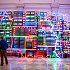 Electronic Superhighway, by Nam June Paik (1995)