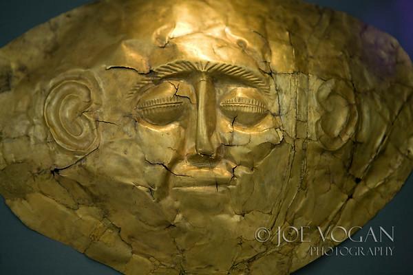 Gold Mycenaean Death Mask