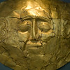 Gold Mycenaean Death Mask