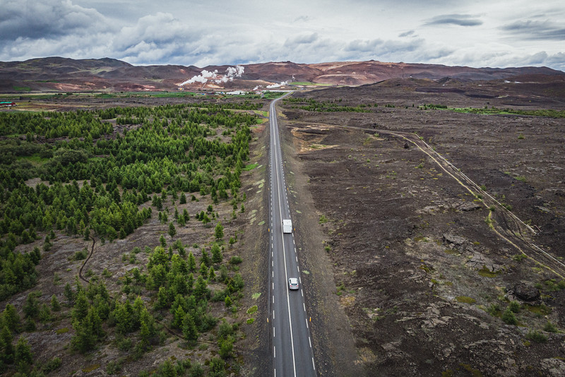 The country lost most of its trees more than a thousand years ago, when Vikings settlers harvested the forests to build their homes and boats and as fuel. <br /> As climate change has become a greater concern, Iceland's leaders have viewed reforestation as a way to help the country meet its climate goals. Reforesting the Icelandic countryside has benefits for farmers and counteract erosion and sandstorms. Thanks to the reforestation initiatives three million or more trees were planted in recent years.