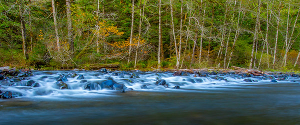 Salmon River in the Fall