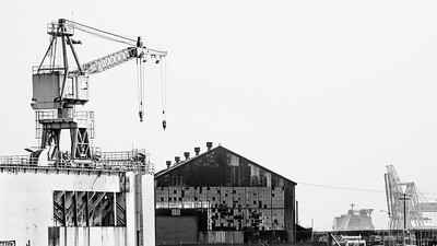 Dogpatch Cranes 4015bw